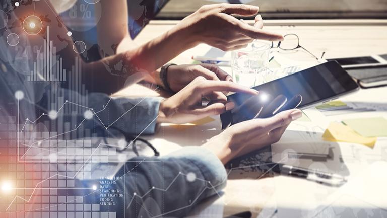 Online Handel am Tablet und PC über das Internet