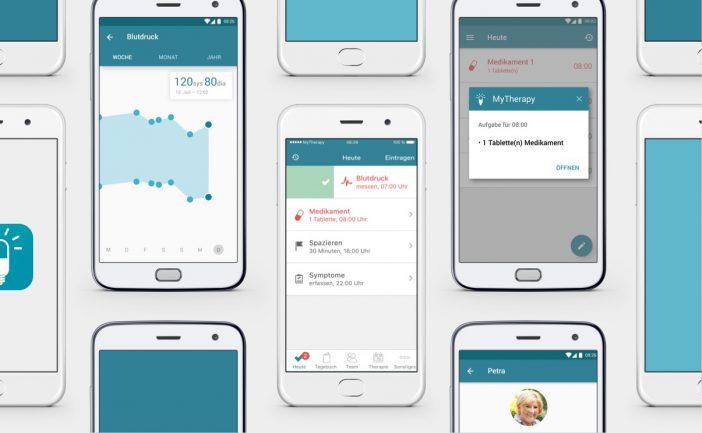 Eine App, die alte und vergessliche Menschen an ihre Medikamente erinnert
