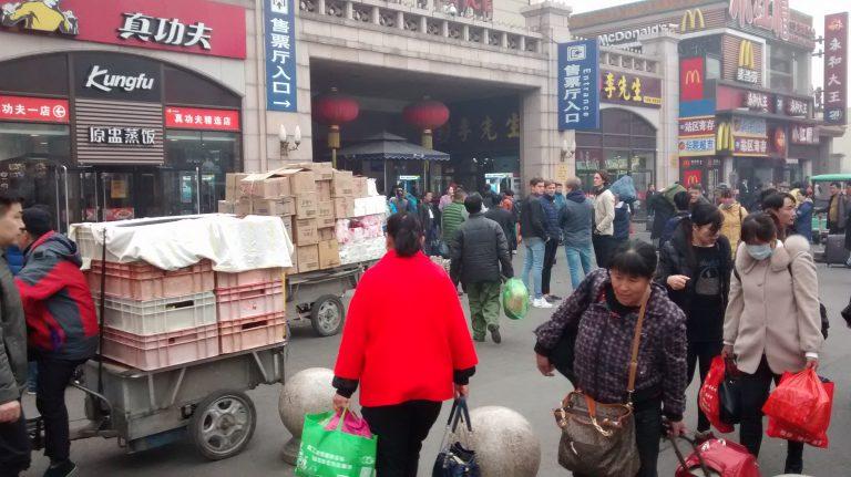 Chinesen werden arbeitslos