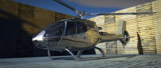 helikopter von uber für new york