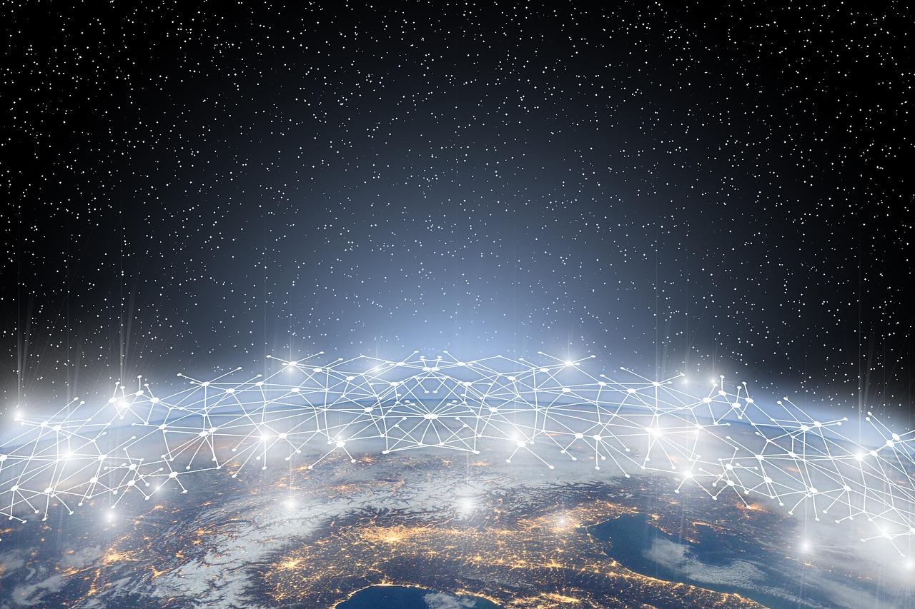 Internet Netzwerk verbindung